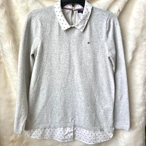 Tommy Hilfiger Collared Sweater